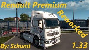 100 Correct Truck And Trailer Renault Premium Reworked V46 By Schumi 133x ETS2 Mods Euro