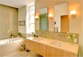 Rustic Bathroom Lighting Ideas by Interior Contemporary Brown Stoned Bathroom Tile With Wooden