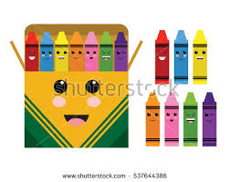 Crayon Box Stock Royalty Free & Vectors