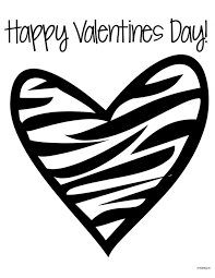 Page Of A Heart Coloring Pages Online Color Free