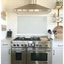 glas küchenrückwand herd spritzschutz küchenwand glaswand 60 x 80 x 0 6cm klarglas 607471