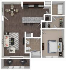 Bathroom Floor Plans With Washer And Dryer by Floorplans The Village At Lakeshore Crossings 1 2 U0026 3 Bedroom