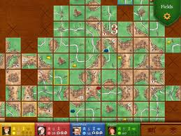 Best IPad Board Games Carcassonne