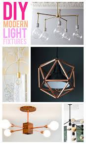 21 Modern DIY Light Fixtures