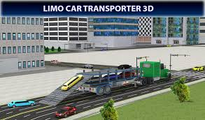 100 3d Tow Truck Games Limousine Car Transport 3D Transporter For Android APK