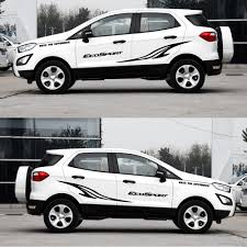 100 Ford Stickers For Trucks Auto Part Car Styling For EcoSport Car Side Body Decal