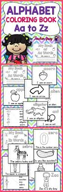 Alphabet Coloring Letter Aa To Zz This Book Is For