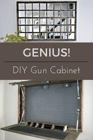 Diy Gun Cabinet Plans by Best 10 Gun Storage Ideas On Pinterest Hidden Gun Storage