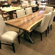 Luxury Live Edge Dining Room Table Raw New Uk Canada Toronto Diy Ontario Australium Vancouver