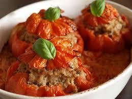 cuisiner coeur de boeuf tomates farcies au boeuf haché cookismo recettes saines