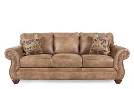 traditional rolled arm 89 sofa in southwestern earth tone