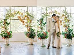 2 Look This Dreamy Indoor Wedding