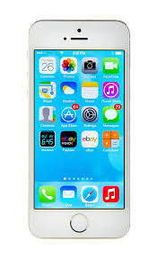 Apple iPhone 5s 32GB silver white color unlocked Smartphone