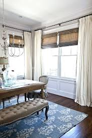 Curtains For Dining Room Chevron Back Tab Red And White
