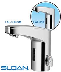 Zurn Sensor Faucet Aerator by Eaf 350 Automatic Sensor Faucet Sloan Battery Powered Automatic