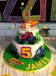 Blaze & The Monster Machines Birthday Cake For James' 5th Birthday ... Monster Truck Cupcakes Archives Kids Birthday Parties Monster Truck Party Ideas At In A Box Cakes Decoration Little Fire Cake Wedding Academy Creative Coolest Car My Practical Guide Design Birthday Party Ideas Carters Bday Pinterest Laraes Crafty Corner What Ive Been Creatively Quirky Home May 2012 Monster Drink Banner