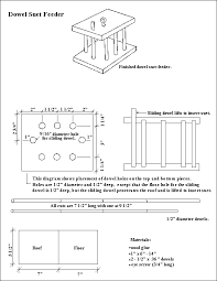 Free Bird Table Plans by Free Bird Feeder Plans For All Types Of Feeders