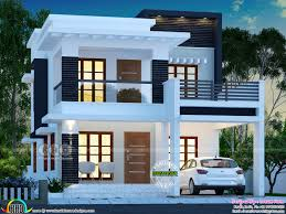 100 Modern House Cost 25 Lakhs Cost Estimated Double Storied Home Kerala Home Design