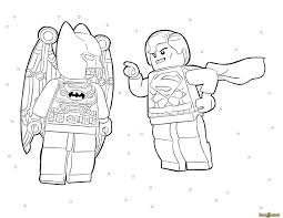 Printable Superhero Coloring Pages Pdf Lego Superheroes Free
