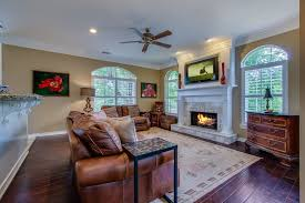 traditional living room with hardwood floors carpet in san