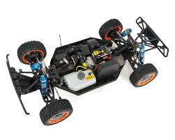 Losi 5IVE-T 1/5 4WD Short Course Truck W/29cc Gasoline Engine, 2.4 ...