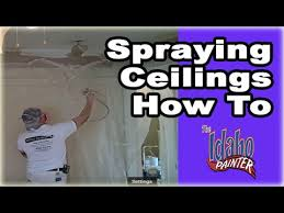 airless paint sprayer for ceilings spraying interior ceilings painting ceilings with an airless