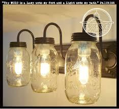 Amazing Mason Jar Light Fixtures For Mason Jar Light Fixture 43
