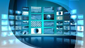 Tv Studio Background Stock Video Footage
