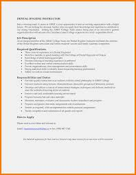 9-10 Dental Hygienist Job Description Sample | Tablethreeten.com Creative Resume Templates Free Word Perfect Elegant Best Organizational Development Cover Letter Examples Livecareer Entrylevel Software Engineer Sample Monstercom Essay Template Rumes Chicago Style Essayple With Order Of Writing Ulm University Of Louisiana At Monroe 1112 Resume Job Goals Examples Southbeachcafesfcom Professional Senior Vice President Client Operations To What Should A Finance Intern Look Like Human Rources Hr Tips Rg How Write No Job Experience Topresume 12 For First Time Seekers Jobapplication Packet Assignment