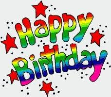 Happy birthday birthday clipart images