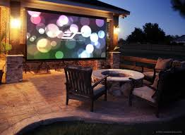 Product Review - Elite Screens 16 Diy Outdoor Shower Ideas Fixtures Creative Design And Diy Backyard Theater Fence What You Need For A Movie Family Hdyman These 27 Projects For Summer Are Extremely Cool Best 25 Theatre Ideas On Pinterest Theater How To Build Huge Screen Cheap Youtube Movie Tree Deck House Kids Tree Bring More Ertainment Your Backyard By Building An Outdoor System 9foot Eertainment W How Sports