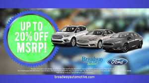 Broadway Ford Veterans Sale, Green Bay, WI; November 2017 - YouTube Broadway Ford Truck Sales Used Box Trucks Saint Louis Mo Dealer A 1 Auto Sales 2018 Ford F350 Xl 5001536998 Car Dealership Yonkers Ny Broadway Brokers Freightliner Calgary Ab Cars New West Truck Centres Jt Motors Limited Jds Vansjds Vans Home Parts Maintenance Missoula Mt Spokane Gch Saves 100 A Week On Fuel After Switching To Approved