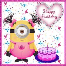 Happy Birthday Minion Quote