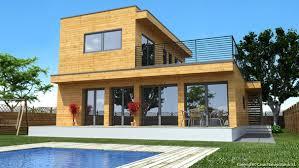 maison en bois natura rosso 150 maisons préfabriquées