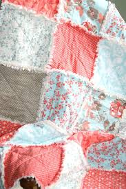 Aqua And Coral Crib Bedding by Navy Blue And Coral Ava 3pc Girls Teen Full Queen Bedding Set
