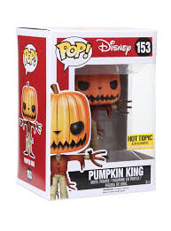 Motley Pumpkin Patch by Funko The Nightmare Before Christmas Pop Pumpkin King Glow In The