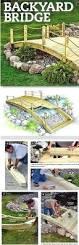 Wood Project Plans Pdf by Build A Bridge For Your Garden Bridge Woodworking Project Plan