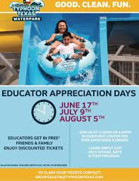 Educator Appreciation Days In Pflugerville At Typhoon Texas Typhoon Lagoon And Blizzard Beach Dang Rv Tickets Passes Big Rivers Waterpark 2018 Austin Camp Guide Texas Typhoontexasatx Twitter Deals Steals Katy Moms Atpe Save With Services Discounts Splash Kingdom Promo Code Catalina Island Coupon Deals News Member Perks Florida Pta Waco Serves Hawaiian Falls Default Notice Over Missed Payment Available Coupons In Washington Dc Certifikid Knife Nuts Podcast On Apple Podcasts