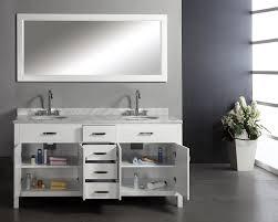 72 Inch Wide Double Sink Bathroom Vanity by Virtu Usa Md 2072 Wmro Wh Caroline 72 Inch Double Sink Bathroom