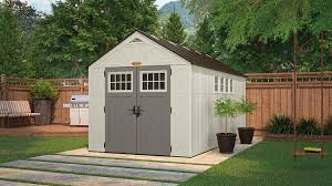 Sears Metal Shed Instructions by 883 Cu Ft Tremont 8 X 16 Storage Shed Suncast Corporation