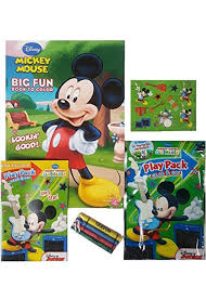 Mickey Mouse Coloring And Activity Book Set