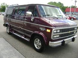 Chevy Conversion Van Not Sure Of The Year We Had But It Was Nice For Road Trips