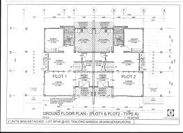 100 Semi Detached House Design Pan Villa Properties Proposed Modern 2 Storey