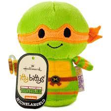 100 Teenage Mutant Ninja Turtle Monster Truck Itty Bittys Nickelodeon S Michelangelo