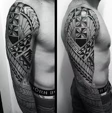 Most Tribal Tattoos Do Tend To Feature Characteristics Like Repetitive Design Pattern Elements Bold Line Motifs Strong Black Ink Usage And Mythical Or