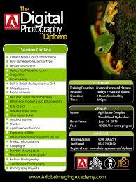 Digital Photography Diploma Poster Design PSD By KhaleeqXaman