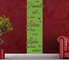 wandtattoo banner blumen ranke spruch familie leben liebe blumen deko streifen flur wandaufkleber wohnzimmer aufkleber 1u403
