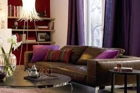 lila violett wohnräume einrichten mit lila und