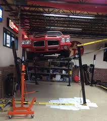 A Car Lift In Your Shop | Grumpys Performance Garage Easy Access Car Dolly Backyard Buddy Lift S Photo On Terrific Guys With 4post Car Lifts In Their Garages I Have Questions Advantage Installation Part Images With Remarkable Basic Home Garage Liftrack Page 2 Cvetteforum Chevrolet For Sale Outdoor Decoration Post Lifts Hydraulic Jack Pictures Appealing Image Wonderful Reviews Auto Neauiccom