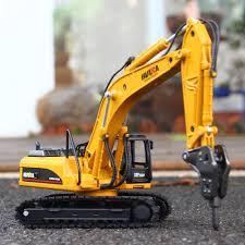 100 Demolition Truck Kid Mini Excavator Diecast Scale Model Toys 150